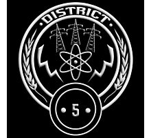 District 5 - Power Photographic Print