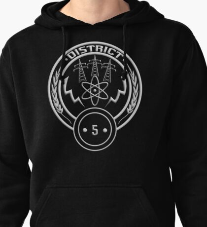 District 5 - Power Pullover Hoodie