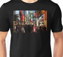Even At Night, Myeondong is Crowded (Seoul, Korea) T-Shirt