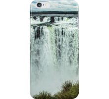 Iguazu Falls - From river level iPhone Case/Skin
