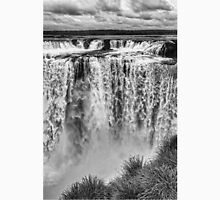 Iguazu Falls - From river level - monochrome Unisex T-Shirt