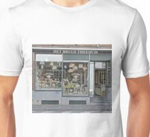 Tea house, Bruges, Belgium Unisex T-Shirt