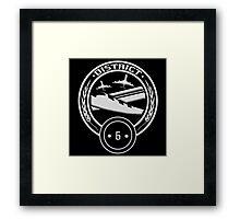 District 6 - Transportation Framed Print