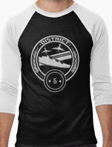 District 6 - Transportation Men's Baseball ¾ T-Shirt