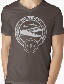 District 6 - Transportation Mens V-Neck T-Shirt