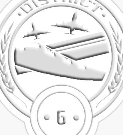 District 6 - Transportation Sticker