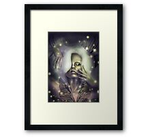 Firefly Queen Framed Print