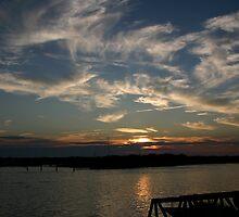 Sunset at MV by Banni Bunting