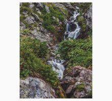 Waterfall in the mountains Kids Clothes
