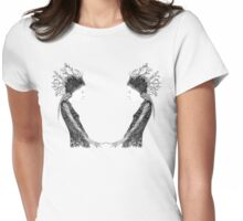 Forrest Queen Womens Fitted T-Shirt