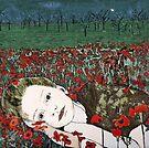 """Annya's Dreaming - Aquatint Etching Print by Belinda """"BillyLee"""" NYE (Printmaker)"""