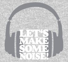 Let's make some noise - DJ headphones (grey/white) Kids Clothes