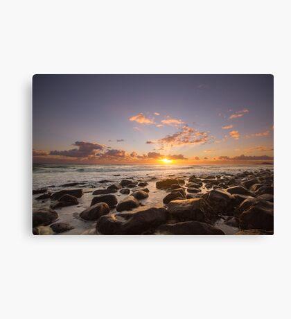 Burleigh Sun Rays Canvas Print