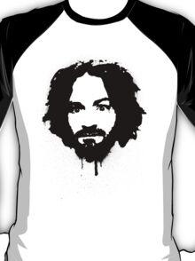 Charles Manson Stencil T-Shirt
