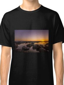 Crystal Stillness On The Rocks Classic T-Shirt