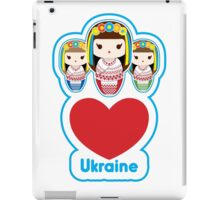 Three Matryoshka Babushka Dolls iPad Case/Skin