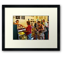 ABC Cheese Factory at Central Tilba Framed Print