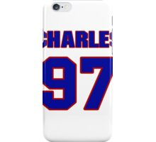 National football player Charles Benson jersey 97 iPhone Case/Skin
