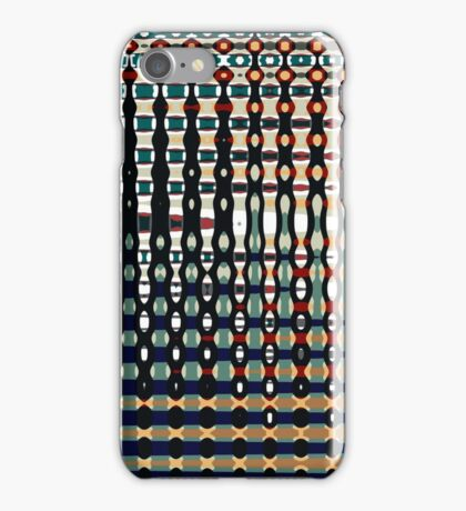 Digital Age Abstract Colourful Pattern - Jenny Meehan iPhone Case/Skin