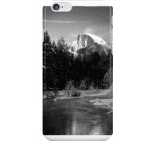 Half-Dome in Yosemite - a tribute to Ansel Adams iPhone Case/Skin