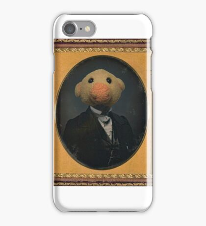 Sir Piggy Daguerre iPhone Case/Skin