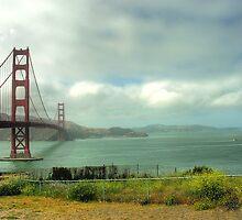 Golden Gate Bridge by LizzieMorrison