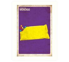 Supernatural 1x02 - Wendigo Art Print