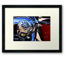 Live To Ride... Framed Print
