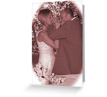 The Wedding Toast Greeting Card