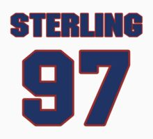 National football player Sterling Palmer jersey 97 by imsport