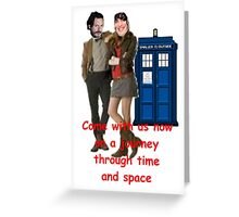 doctor boosh Greeting Card