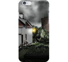 Dysart Historic House and St Serf's Tower: Fife, Scotland [Digital Architecture Art Print] iPhone Case/Skin
