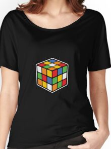 Booby Cube Women's Relaxed Fit T-Shirt