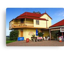 Two Storey Bed and Breakfast at Central Tilba Canvas Print