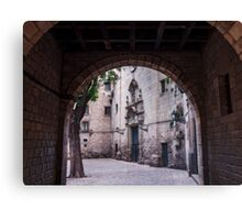 Unknown Barcelona Canvas Print