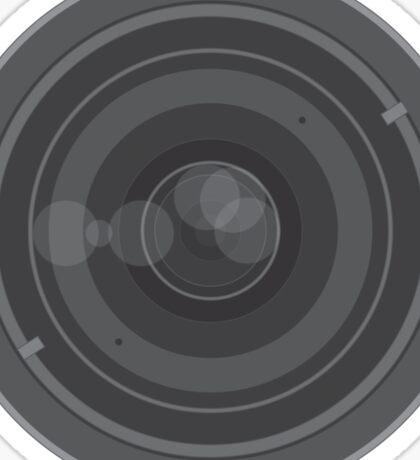 18-200mm Lens Vector Sticker