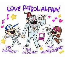 Gravity Falls LOVE PATROL ALPHA Replica Photographic Print