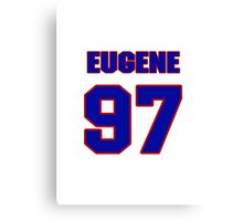 National football player Eugene Sims jersey 97 Canvas Print