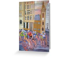 2008 Tour of Britain Finale, Liverpool Greeting Card