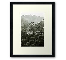 Ayung Valley - Bali, Indonesia Framed Print