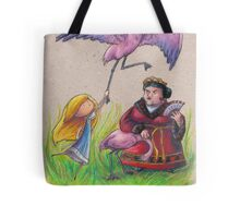 Croquet with the Queen of Hearts Tote Bag