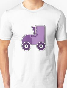 Purple Rollerskate T-Shirt