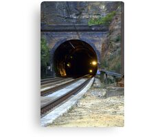 Ten Tunnels Canvas Print