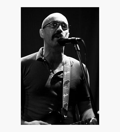Joe lead singer of Fred Photographic Print