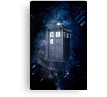 ThroughTime And Space Canvas Print