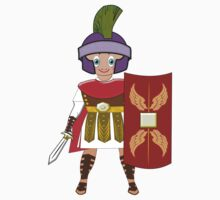 Roman Toon Boy 9 - no gladiator rebellion tonight Kids Clothes