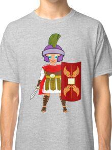 Roman Toon Boy 9 - no gladiator rebellion tonight Classic T-Shirt