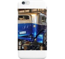 BLU-O32 Rear iPhone Case/Skin