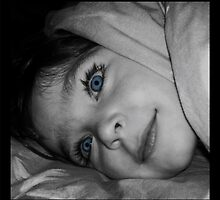 blue eyes & long lashes by bellebuckley