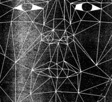 astral narcissus Sticker